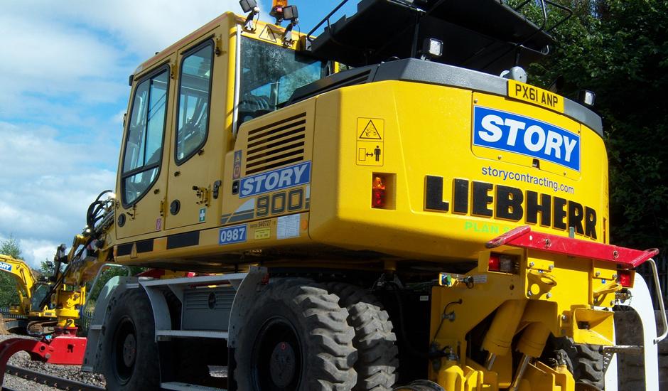 Liebherr A900c Zw Hire