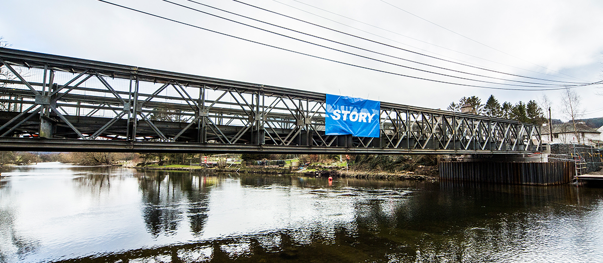 Temporary Reinstatement of Pooley Bridge