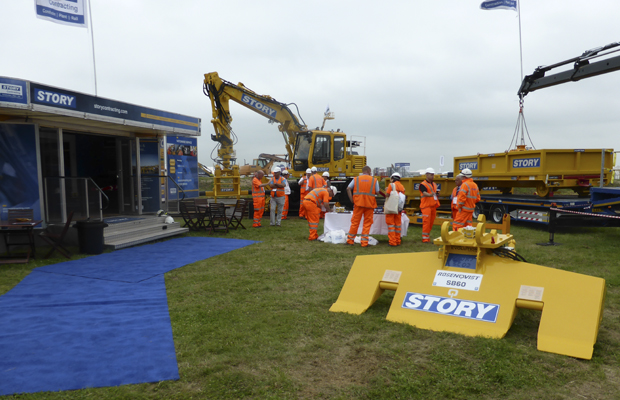 Story Plant on show to Industry Leaders at Rail Live 2014