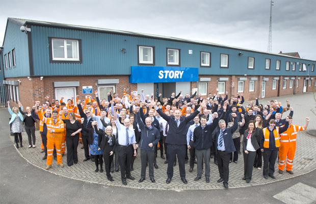 Story Contracting among 100 fastest growing businesses in the UK