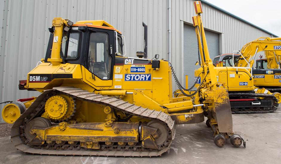 Cat D5 Hire Road Rail Plant Hire Plant Hire
