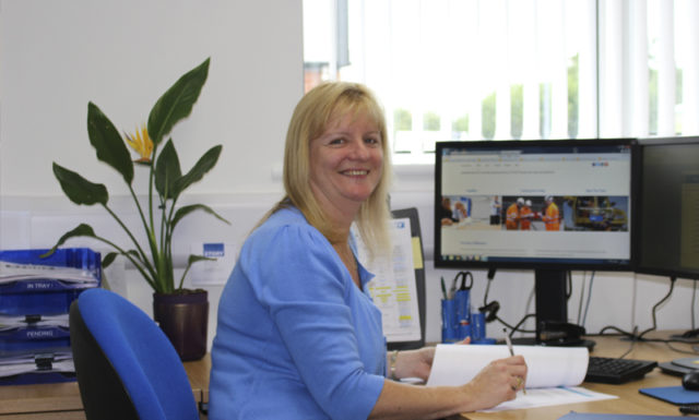 Alison Heap - Training Administrator