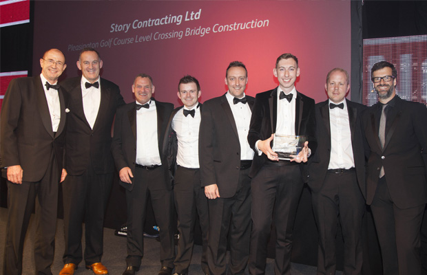 Story Contracting win Best Project at Network Rail Partnership Awards