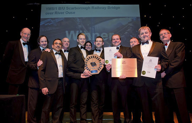 Story Contracting win civil engineering award for Railway Bridge reconstruction in York