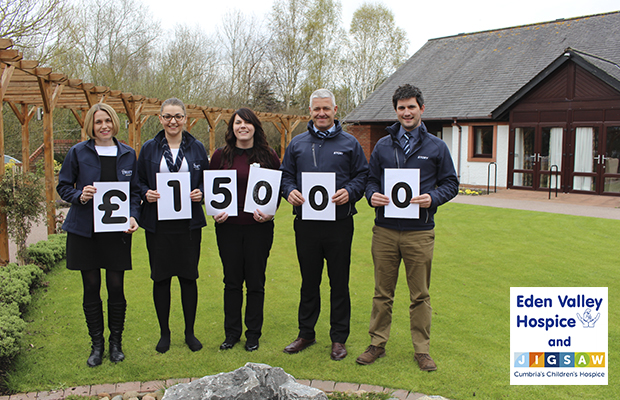 Story raise thousands for Eden Valley Hospice