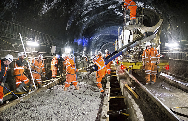 Glasgow Queen Street Tunnel upgrade works