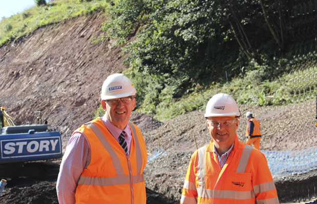 Fred Story Welcomes Mark Carne to Eden Brows Emergency Works