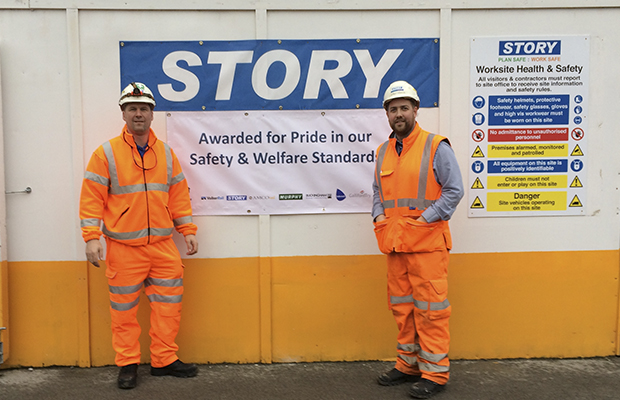 Network Rail safety banner awarded to Mersey Loop