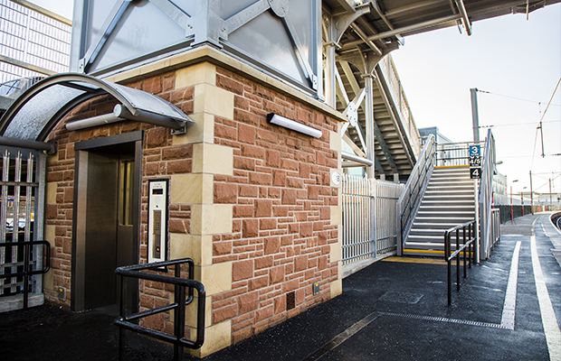 New lifts and footbridge means 'Access For All' at Penrith Station