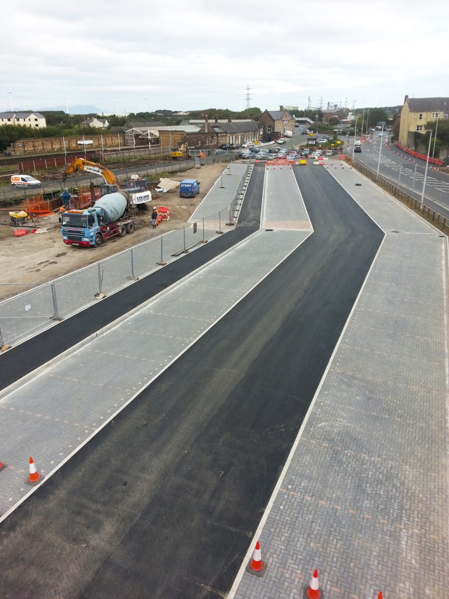 £3m Workington transport hub is bang on schedule