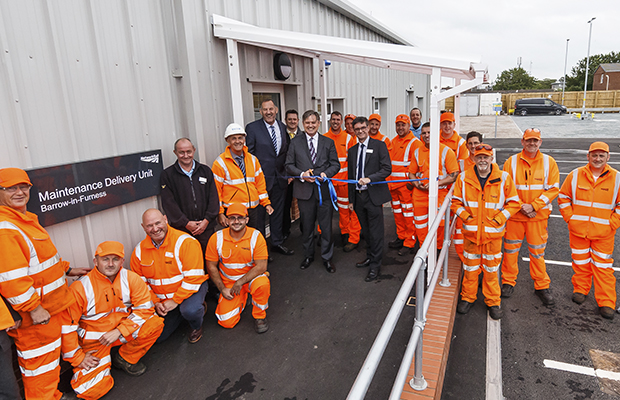 Network Rail MDU opens in Barrow