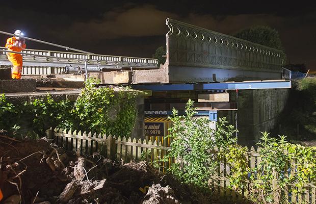 £5.5m bridge replacement begins