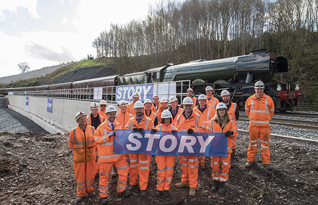 Eden Brows 'Highly Commended' for Infrastructure Achievement of the Year at National Rail Awards