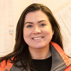 Victoria Cousin, Rail Graduate 1