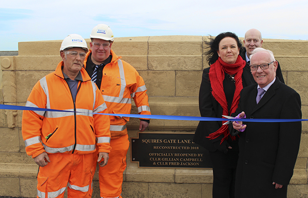 Third Blackpool bridge delivered ahead of schedule