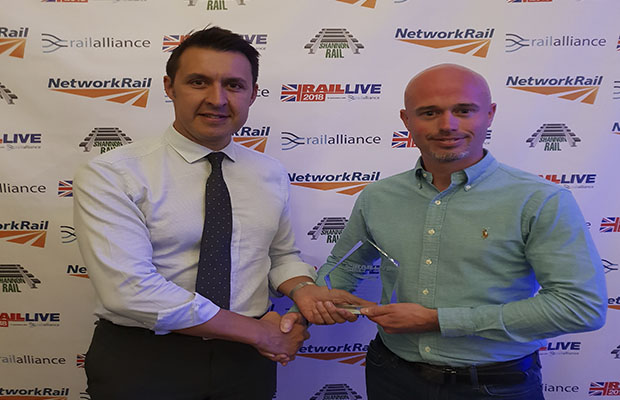 Hat-trick for Story Contracting at Network Rail Plant Awards