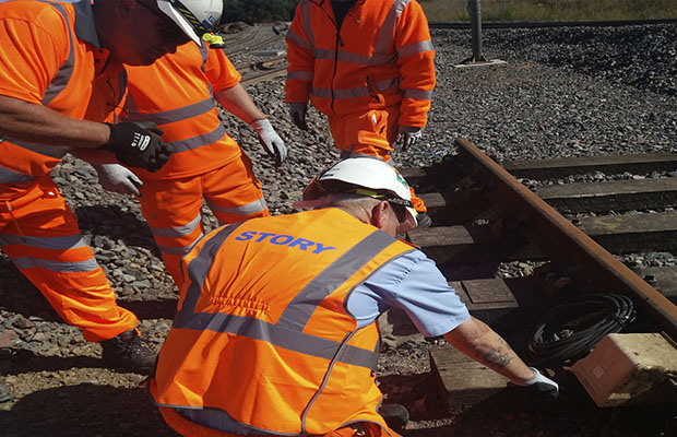 Training success after rail test track upgrade