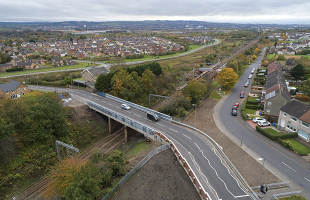£4m railway bridge reopens two weeks early