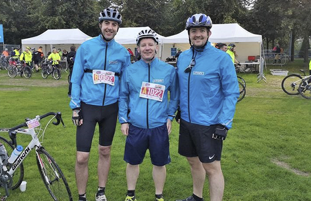 Cycling challenge for the Scottish Association for Mental Health