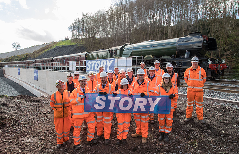 Construction Company | Rail Contractors | Plant Hire - Story