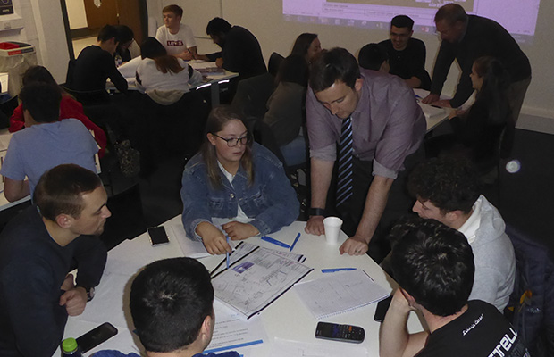 Story Contracting inspires engineers of the future
