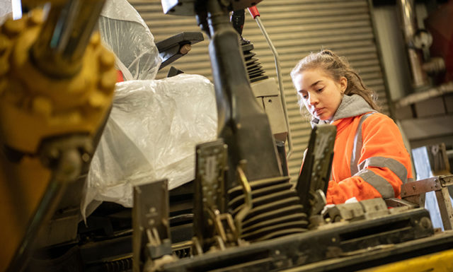 Mariah Corfield - Plant Refurb Electrician Apprentice