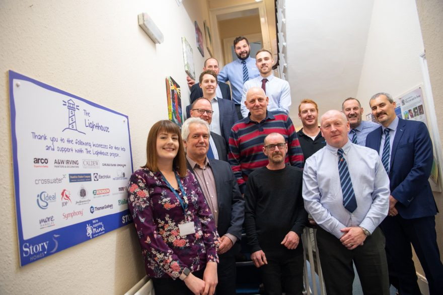 Story Contracting and Story Homes transform vital Carlisle Lighthouse service for mental health charity Mind