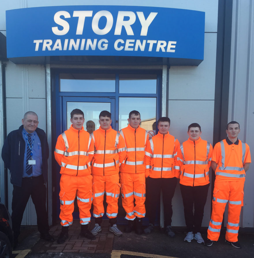 Story Contracting welcomes first ever cohort of Scottish apprentices