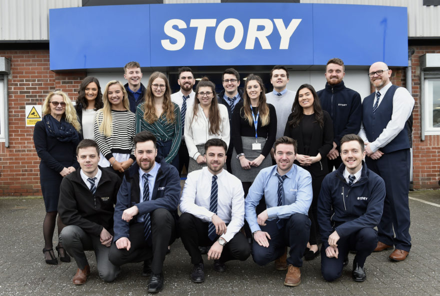 Developing team Story's next generation