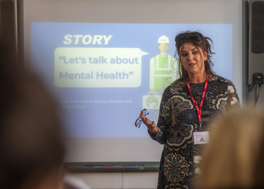Team Story tells students 'It's OK to not be OK'