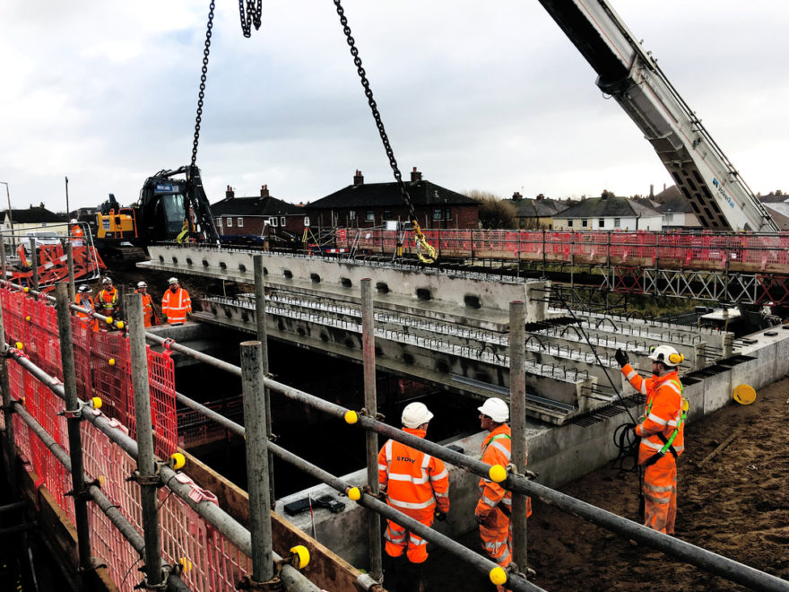 Milestone reached in Highbury Road Bridge replacement