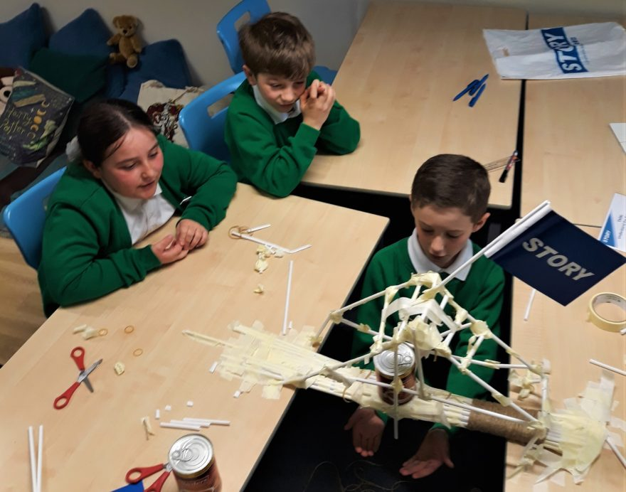 Team Story build bridges to inspire the next generation