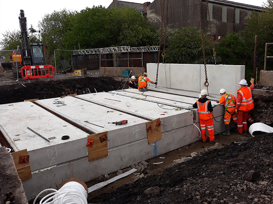 Team Story successfully deliver Bute Street bridge replacement
