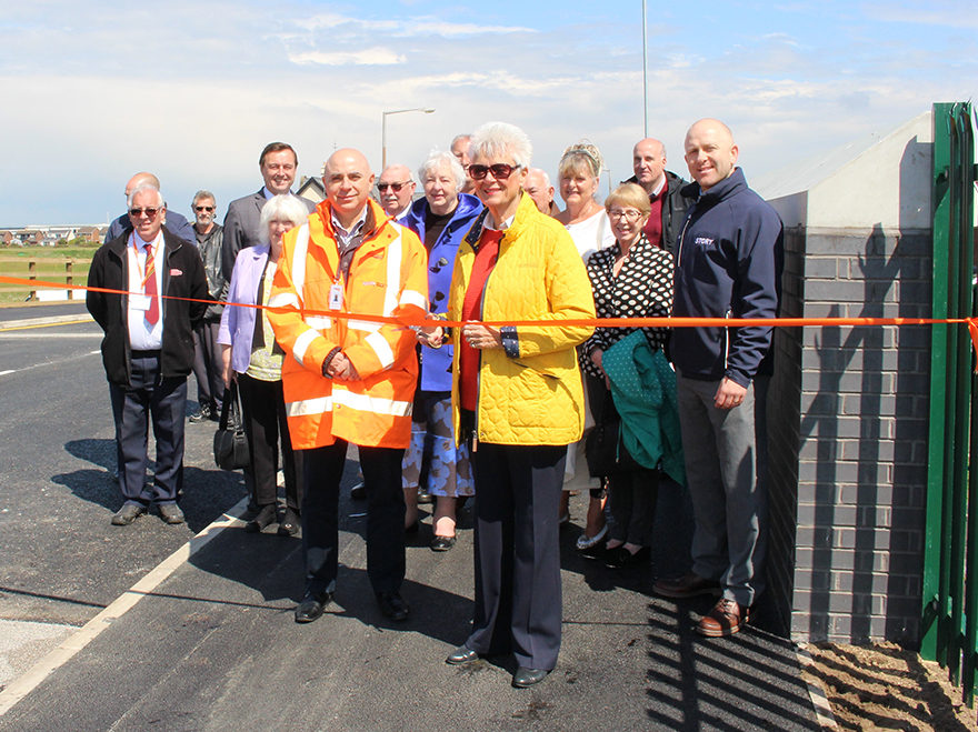 Highbury Road bridge reopens to St Annes community