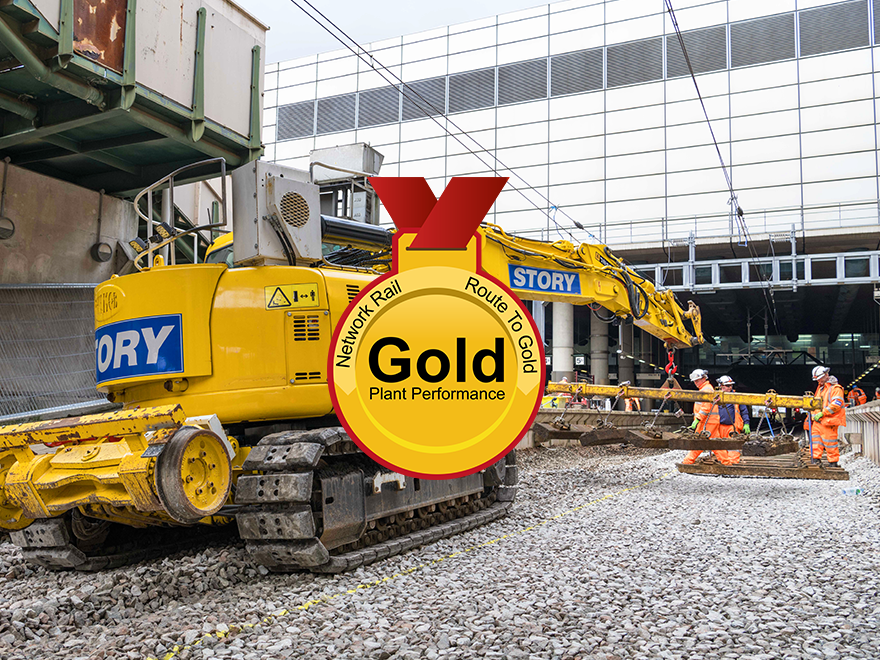 Second Gold award for Plant team