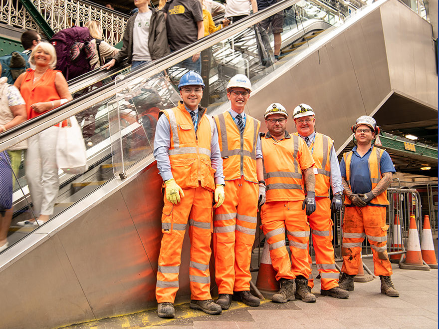 Story Contracting shortlisted for three Rail Partnership Awards