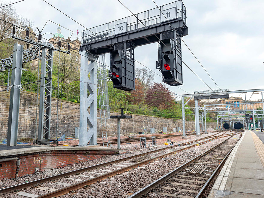 Crossover commissioning marks Waverley works milestone