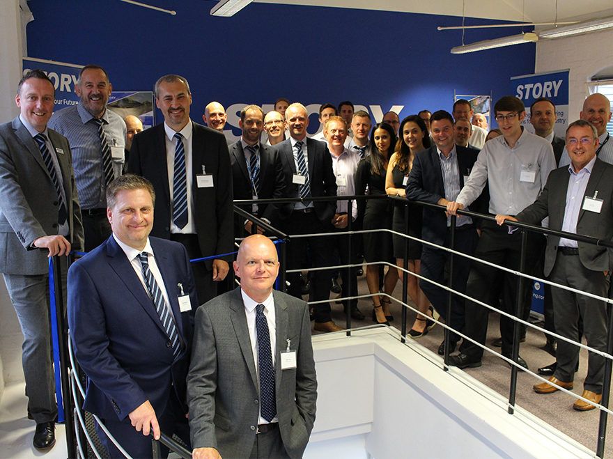Story celebrates official opening of Birmingham office