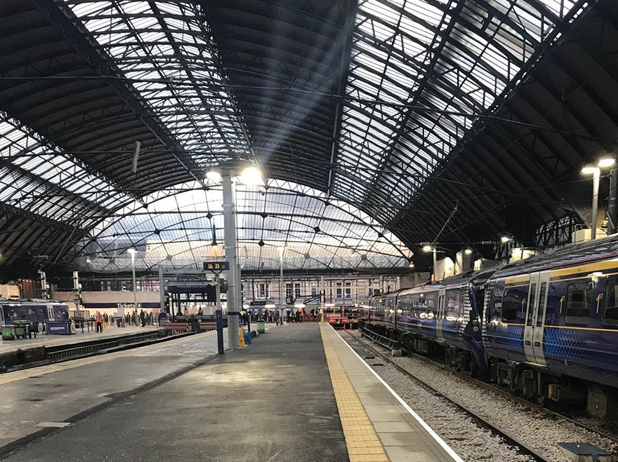 Platform extensions complete at Glasgow Queen Street Station