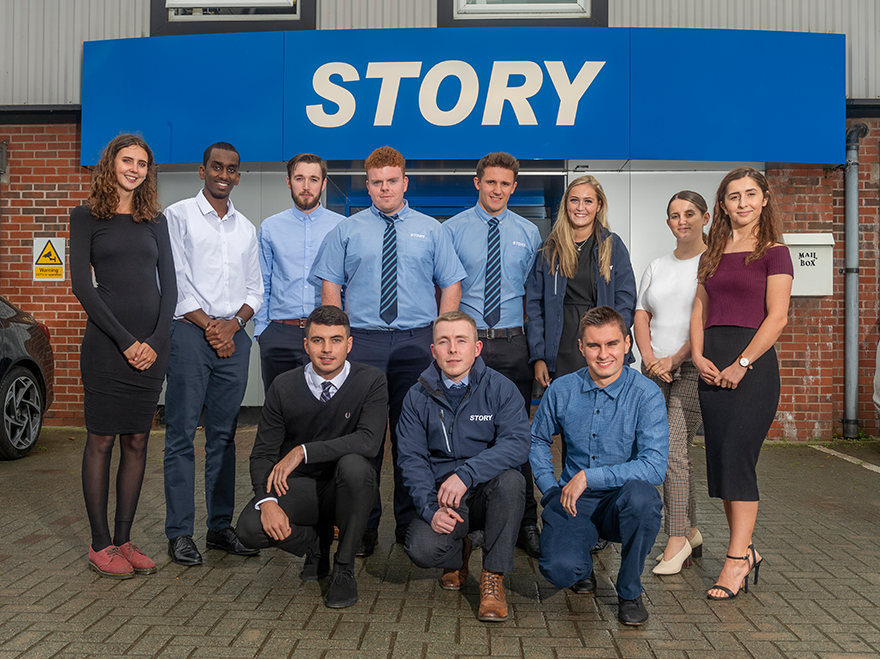 Story welcomes 2019 cohort of Graduate and Trainees