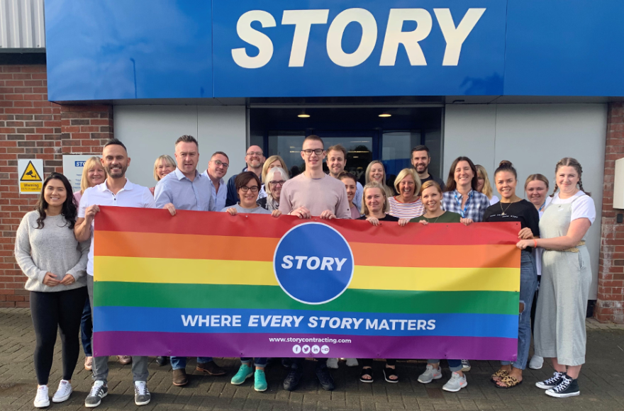 Team Story joins Cumbria Pride celebrations