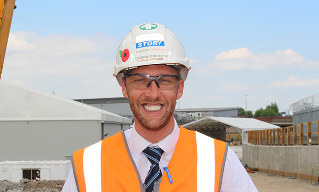 Darren Pennycuick - Construction Manager
