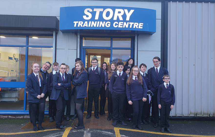 Story partners with local secondary school on industry project