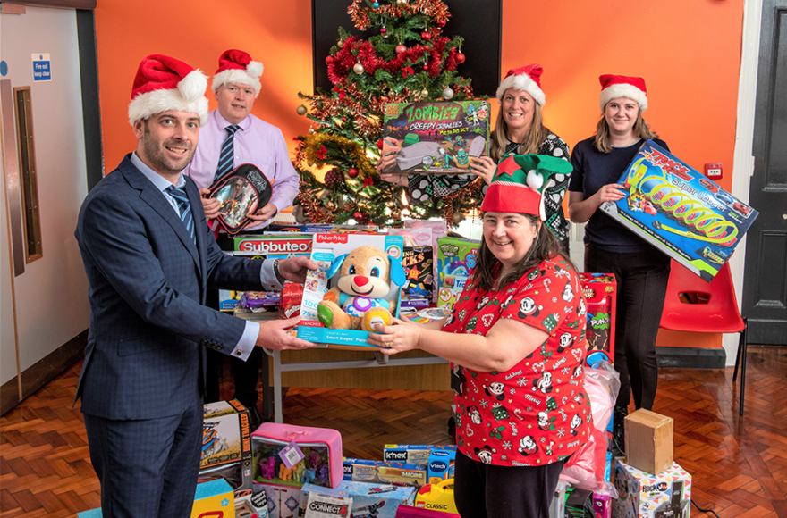 Charities receive festive boost from Story Contracting's Christmas Campaign