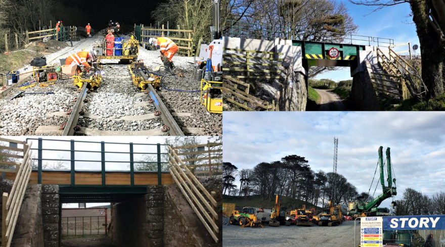 Essential bridge replacements completed on Scotland's Railway during testing times
