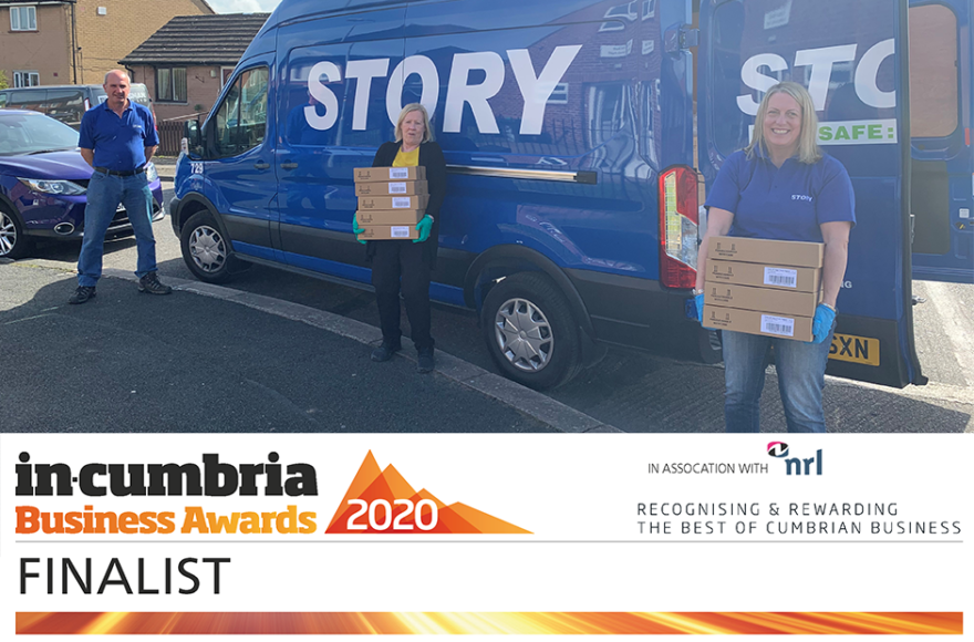 Story Contracting shortlisted for In-Cumbria Business Awards