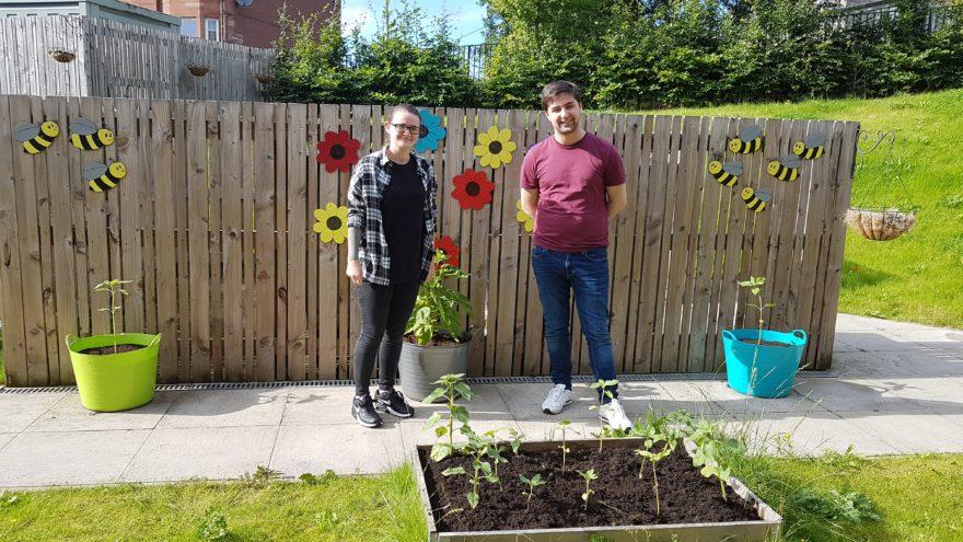 Simon Community Scotland's gardens grow with help from Team Story