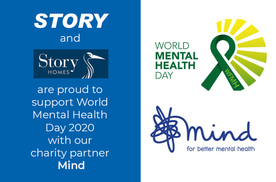 Story Contracting and Story Homes donate over £28,000 to mental health charity Mind