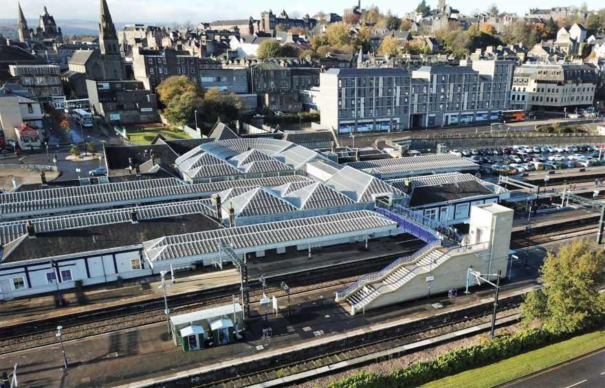 Stirling Station enhancement works win National Railway Heritage Award
