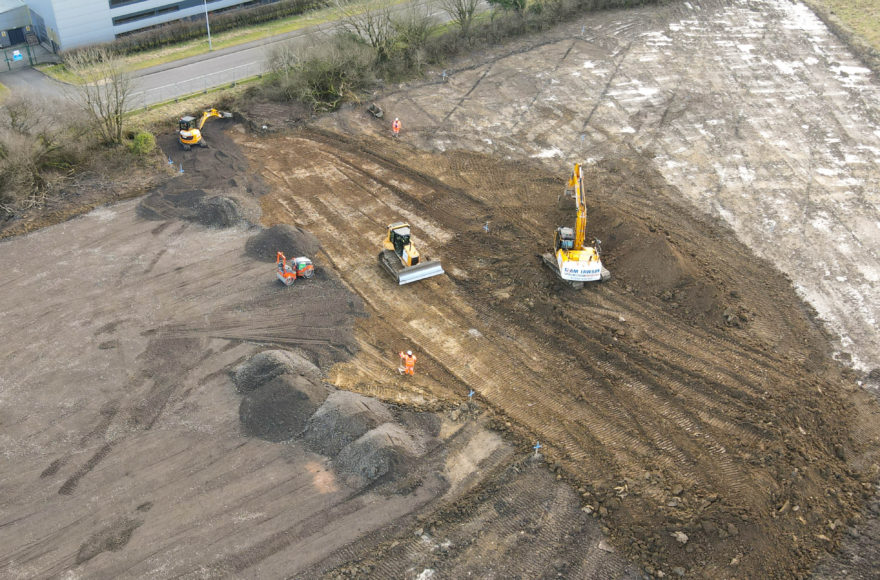 Works begin at Lakes College Training Centre